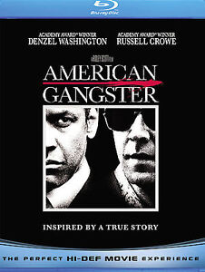 American Gangster (Blu-ray Disc, 2008, 2...