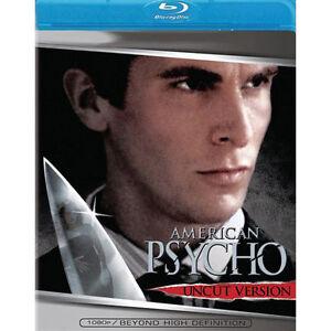 American Psycho (Blu-ray Disc, 2007, Unc...