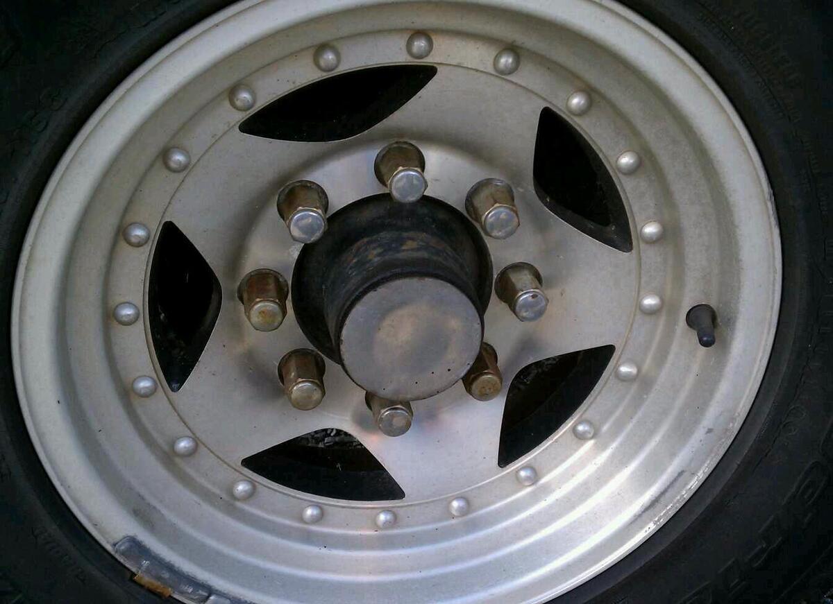 Racing AR 23 Series 23 set of 4 16x7 8 lug wheels rims DODGE FORD look