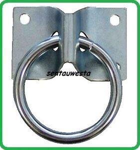 anbindering barrenring mit bodenplatte anbindung ring auf platte verzinkt ebay. Black Bedroom Furniture Sets. Home Design Ideas