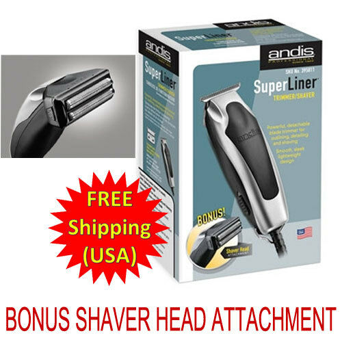Andis SuperLiner Trimmer 04810 RT-1 w/ BONUS Shaver Head Attachment 04890 *NEW* in Consumer Electronics, Gadgets & Other Electronics, Other | eBay