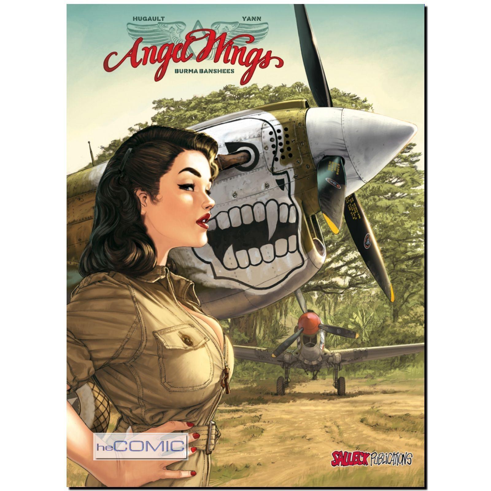 Angel Wings 1 Burma Banshees Pinup Girl Comic Fliegerstaffel Romain ...