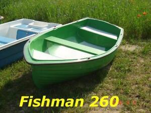 Angelboot-Ruderboot-Freizeitboot-FISHMAN-260-NEU