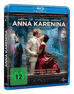 Anna Karenina (Blu-ray) mit Keira Knightley & Jude Law - <span itemprop='availableAtOrFrom'>Mainz, Deutschland</span> - Anna Karenina (Blu-ray) mit Keira Knightley & Jude Law - Mainz, Deutschland