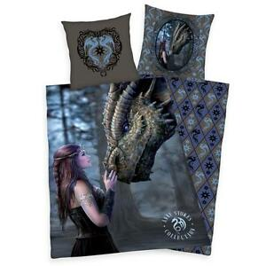anne stokes fantasy drache bettw sche m dchen jugendliche 100 baumwolle ebay. Black Bedroom Furniture Sets. Home Design Ideas