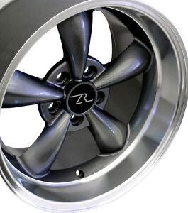 Deep Dish Wheels on Deep Dish Mustang    Bullitt Wheels 17x9   17x10 5 Bullet 17 Inch Rims