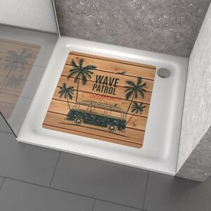 anti rutsch dusche badewanne aufkleber wave patrol ebay. Black Bedroom Furniture Sets. Home Design Ideas