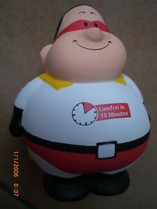 "Anti-Stress-HANDTRAINER/ Anti-Stress-Ball als ""SUPERMANN-BERT"" ca 10x8x6 cm+Werb - Dinslaken, Deutschland - Anti-Stress-HANDTRAINER/ Anti-Stress-Ball als ""SUPERMANN-BERT"" ca 10x8x6 cm+Werb - Dinslaken, Deutschland"