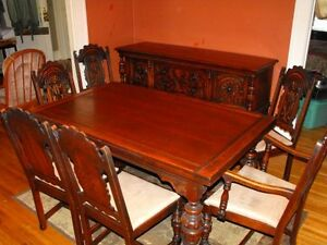 Antique Bernhardt Dining Room Set Early 1900s EBay