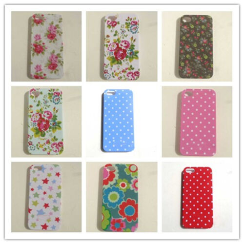 Antique Floral Flower Hard Case Back Cover Skin For apple iphone 4 4S 4G 5 5G in Cell Phones & Accessories, Cell Phone Accessories, Cases, Covers & Skins | eBay
