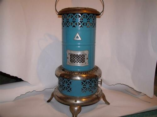 Antique PERFECTION No. 630 Kerosene Oil Heater, Blue Enamel in Antiques, Home & Hearth, Stoves | eBay