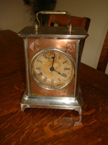 Antique Seth Thomas Carriage Alarm Clock c.1880s – 1890s #1 in Collectibles, Clocks, Antique (Pre-1930) | eBay
