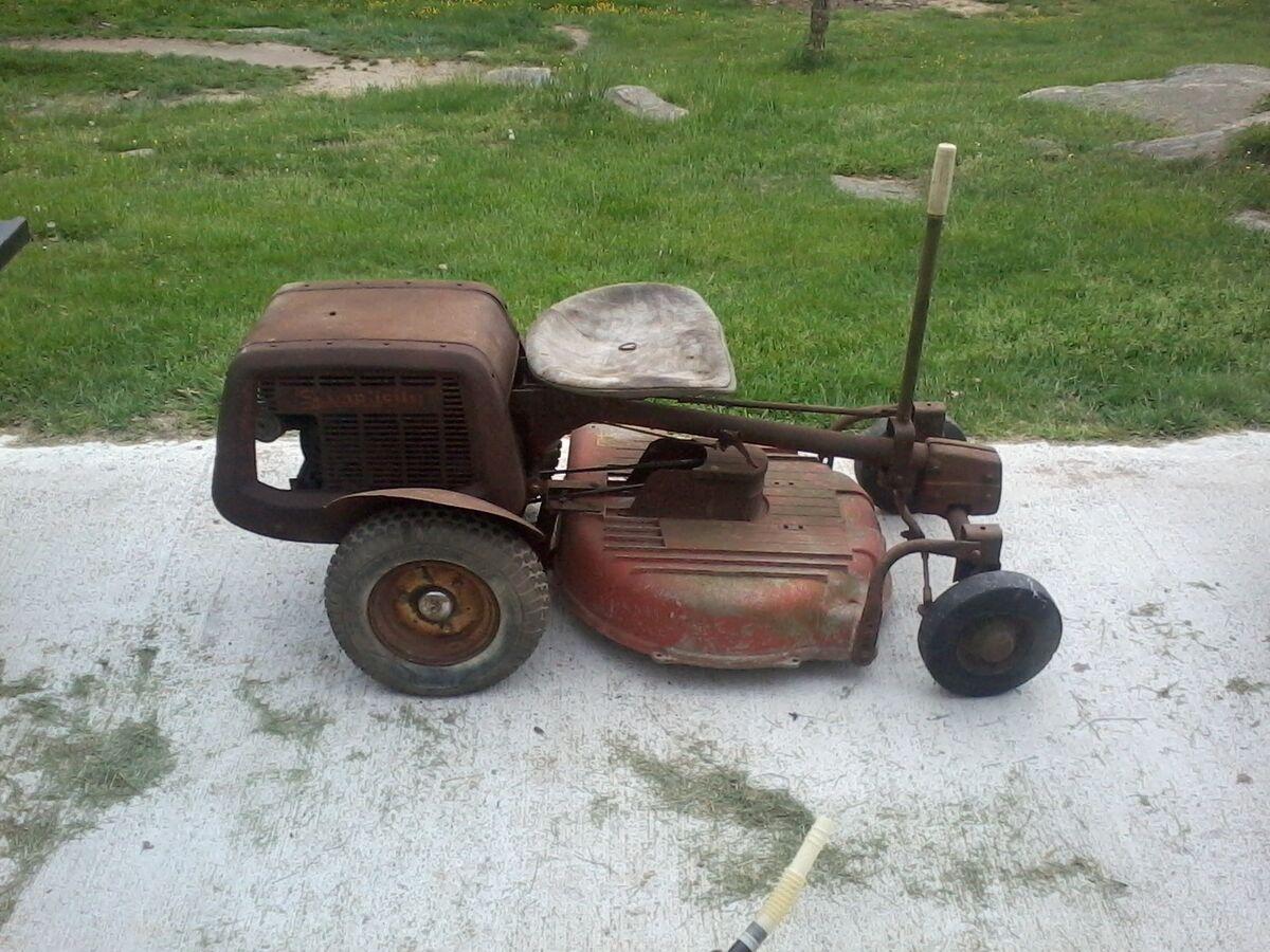 Old Riding Lawn Mowers : Vintage riding lawn mowers style pixelmari