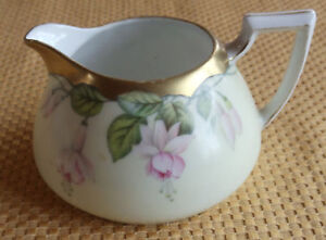 P T Bavaria China http://ebay.com/itm/Antique-Vtg-P-T-Bavaria-Creamer-hand-painted-china-or-porcelain-Fuschia-pattern-/150605551906