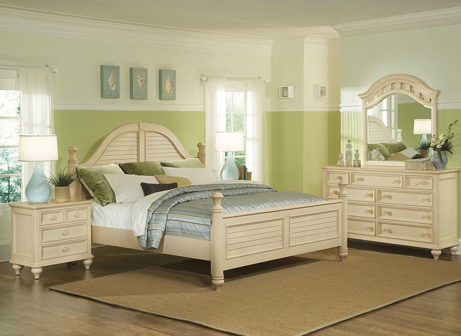 Antique white furniture bed mattress sale for White bedroom furniture