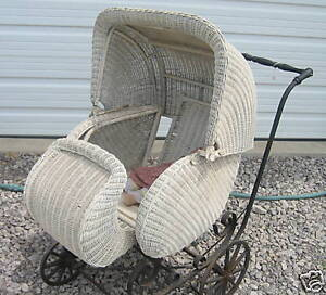 ANTIQUES - HOME AND HEARTH - BABY CARRIAGES AND BUGGIES