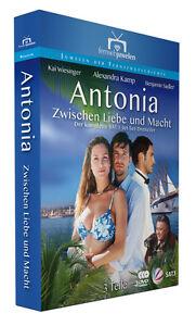 Antonia-Zwischen-Liebe-und-Macht-Alle-3-Teile-Komplettbox-Fernsehjuwelen-DVD