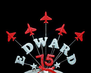 Red Arrows Cake Topper