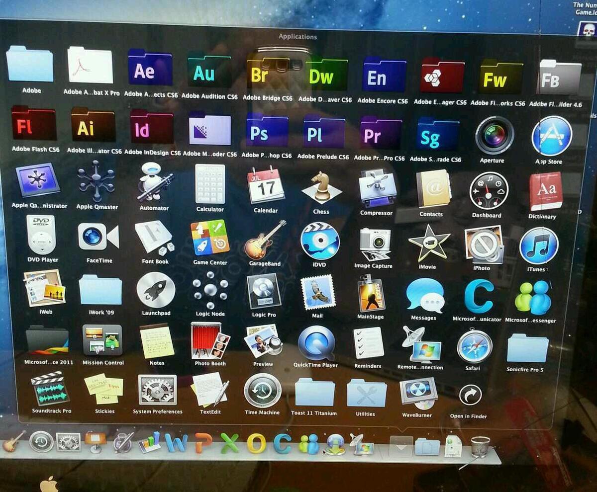 Apple Mac Pro Desktop 2x2 66 8 core Ati radeon 5770 10gb RAM on
