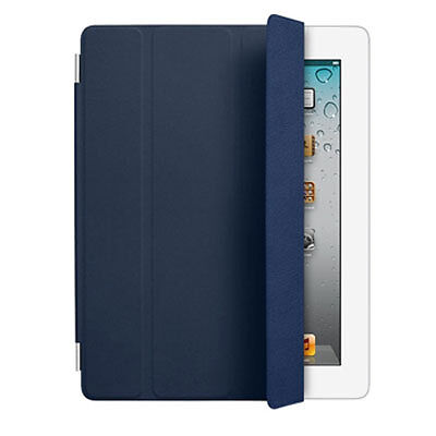 Apple Original Navy Smart Cover iPad 2 3 4 3rd Gen Leather MD303LL/A in Computers/Tablets & Networking, iPad/Tablet/eBook Accessories, Cases, Covers, Keyboard Folios | eBay