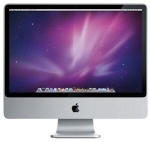"Apple iMac 24"" Desktop - MA878LL/A (Augu..."