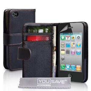 Apple-iPhone-3-3G-3GS-Ledertasche-Leder-Tasche-Huelle-Brieftasche-Zubehoer-DE