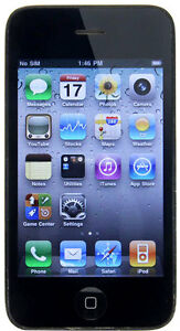Apple iPhone 3GS - 32 GB - Black (Orange...