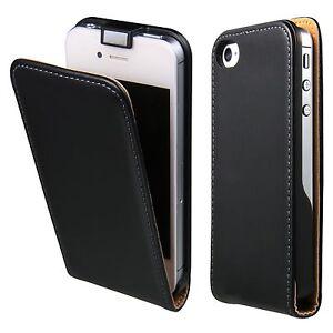 Apple-iPhone-4-4S-Cover-Tasche-Flip-Case-fuer-Handy-Schutz-Huelle-Klapp-Tasche