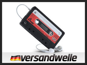 Apple-iPhone-4G-4-4S-Silikon-Kassette-Schutz-Huelle-Case-Schale-Cover-Etui-Retro