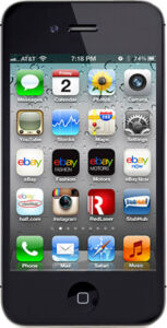 Apple iPhone 4s - 16 GB - Schwarz (O2) S...
