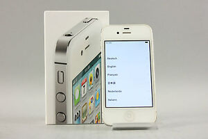wei es iphone 4s mit 16 gb g nstig online kaufen bei ebay. Black Bedroom Furniture Sets. Home Design Ideas