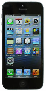 Apple-iPhone-5-16GB-Schwarz-UNLOCKED-Frei-ohne-Simlock-OVP-Blitzversand