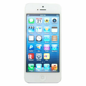 Apple  iPhone 5 - 16GB - White and Silve...