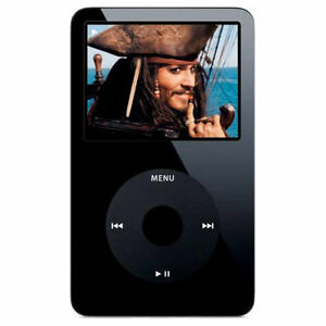 Apple iPod Classic 5th Generation Black ...