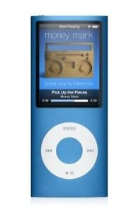 Apple iPod Nano 4th Generation Blue (8 G...
