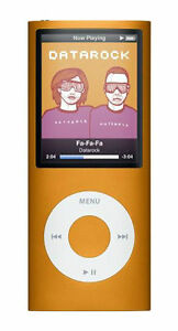 Apple iPod Nano 4th Generation Orange (8...