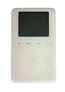 Apple iPod classic 3rd Generation White ...