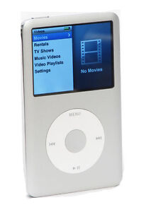 Apple iPod classic 6th Generation Silver...