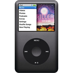 Apple iPod classic 7. Generation Schwarz...