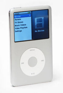 Apple iPod classic 7th Generation Silver...
