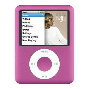 Apple iPod nano 3rd Generation Pink (8 G...