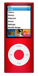 Apple iPod nano 4. Generation (PRODUCT) ...