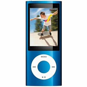 Apple iPod nano 5. Generation Blau (8 GB...