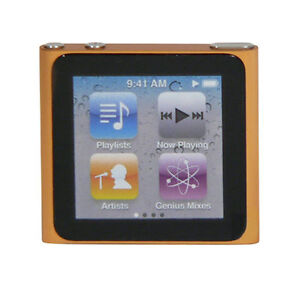 Apple iPod nano 6. Generation Orange (8 ...