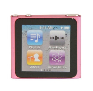 Apple iPod nano 6. Generation Pink (8 GB...