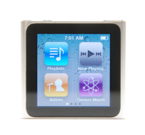 Apple iPod nano 6. Generation Silber (8 ...