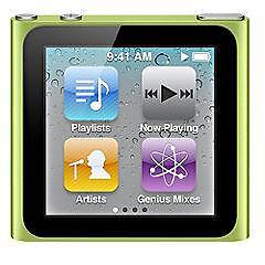 Apple iPod nano 6th Generation Green (16...