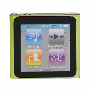 Apple iPod nano 6th Generation Green (8 ...