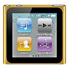 Apple iPod nano 6th Generation Orange (1...