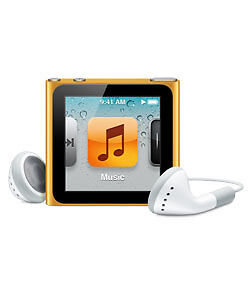 Apple iPod nano 6th Generation Orange (8...